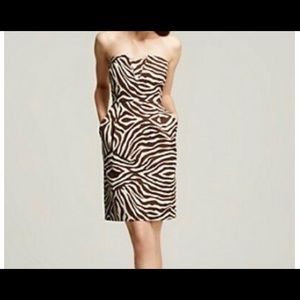 Kate Spade Animal print mini dress